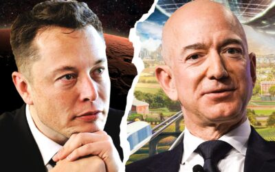 Elon Musk Beats Jeff Bezos To U.S. Air Force Contract As Billionaire Space Race Blasts Off