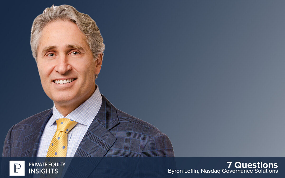 7 Questions on the Board's role in ESG with Byron Loflin
